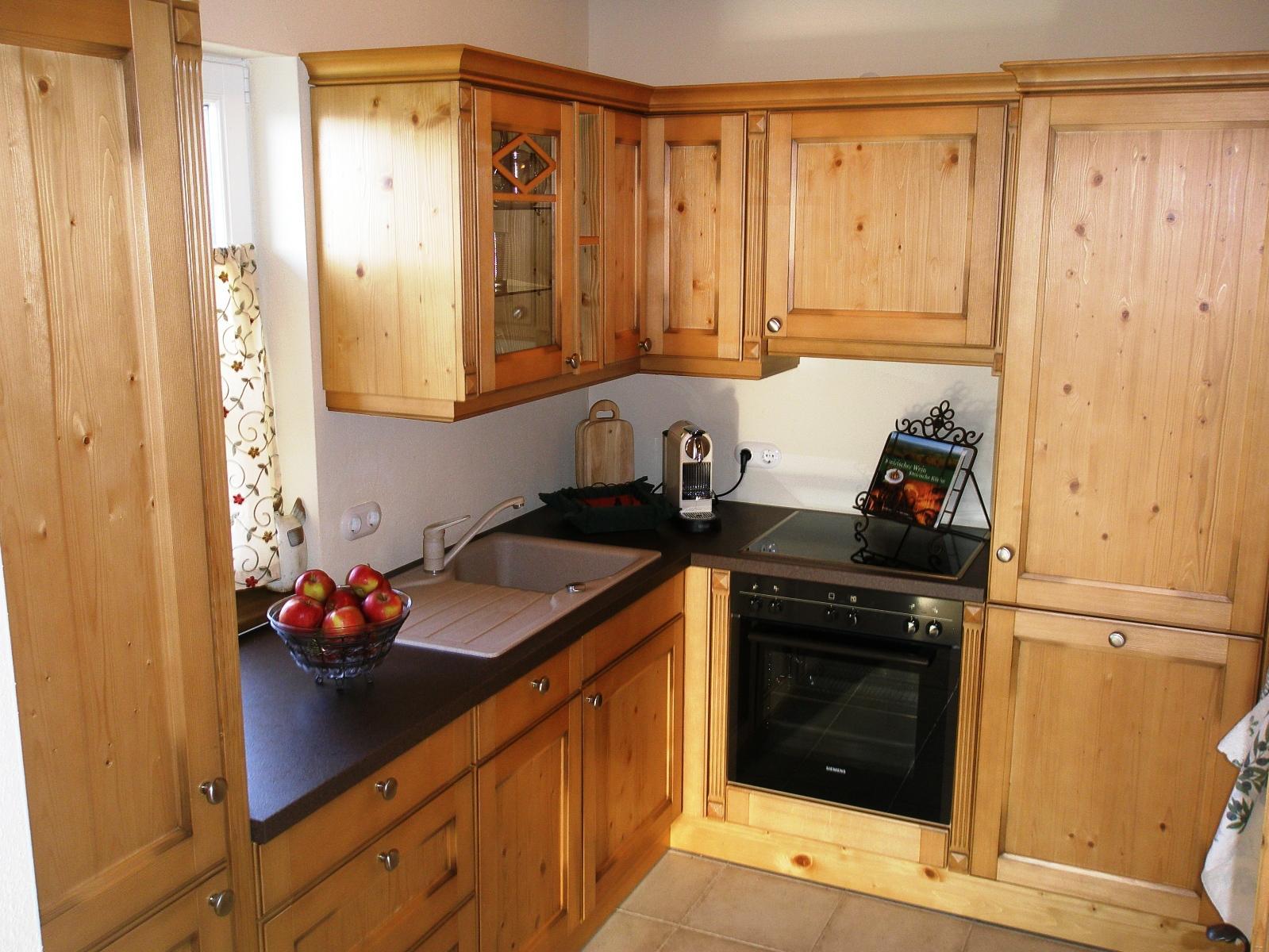 Küche Ferienwohnung Gamlitz