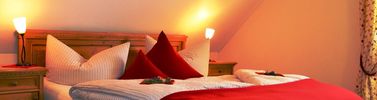 Schlafzimmer Ferienwohnung Südsteiermark